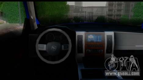 Dodge Ram 350 for GTA San Andreas