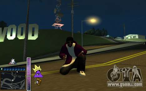 C-HUD Lite SWAG for GTA San Andreas second screenshot