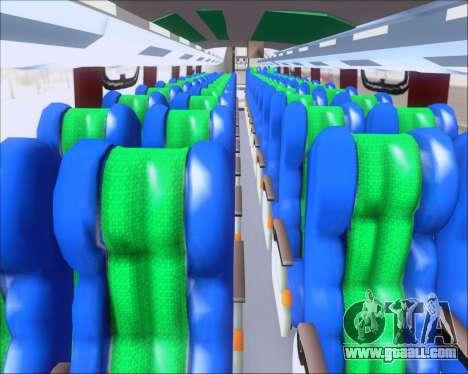 Busscar Vissta Buss LO Palmeiras for GTA San Andreas inner view