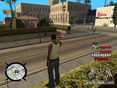 HUD by LokoMoko for GTA San Andreas