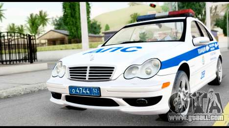 Mercedes-Benz C32 AMG ДПС for GTA San Andreas