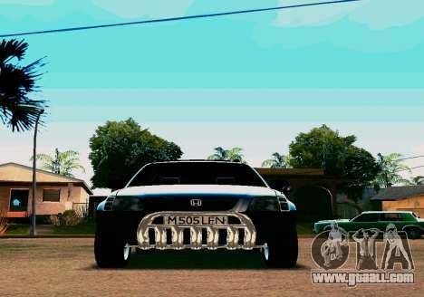 Honda CR-V for GTA San Andreas left view