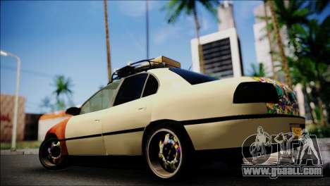 Opel Omega RAT for GTA San Andreas left view