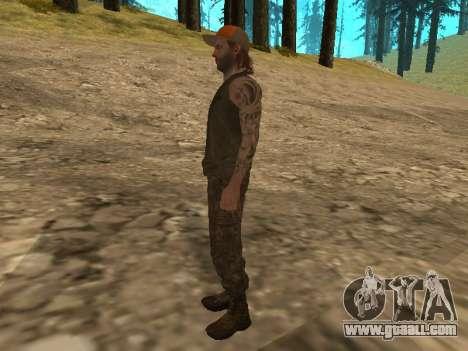 Cletus Ewing de GTA V for GTA San Andreas forth screenshot