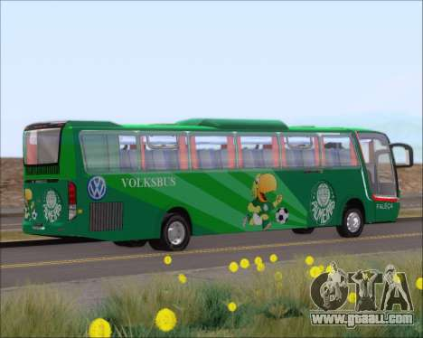 Busscar Vissta Buss LO Palmeiras for GTA San Andreas back view