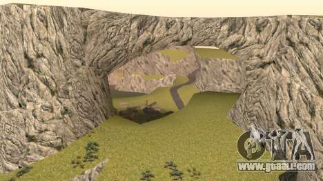 Greening the desert for GTA San Andreas fifth screenshot