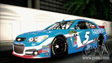 Chevrolet SS NASCAR Sprint Cup Series 2013-2014 for GTA San Andreas