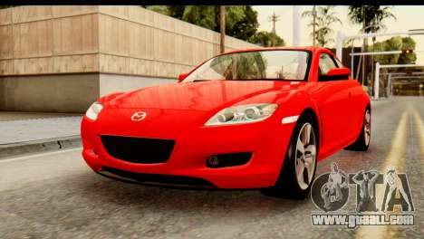 Mazda RX-8 2005 for GTA San Andreas