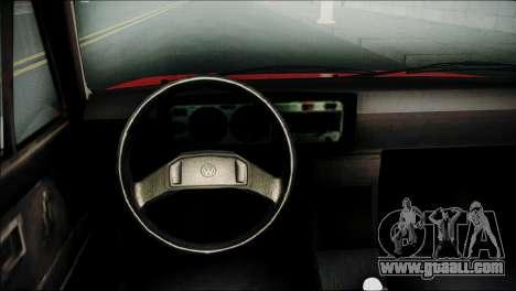 Volkswagen Golf 1 TAS Sarajevo for GTA San Andreas