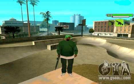 C-HUD Greny for GTA San Andreas