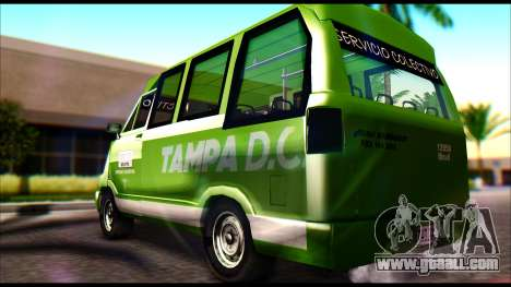 Toyota Microbus for GTA San Andreas left view