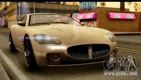 GTA 5 Ocelot F620 v2 for GTA San Andreas right view