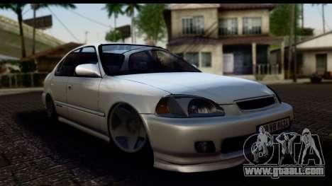Honda Civic Park Garage for GTA San Andreas