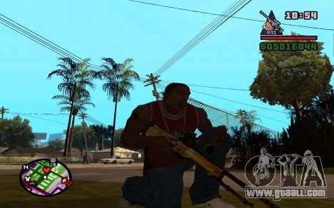 AWP Dragon Lore CS:GO for GTA San Andreas second screenshot