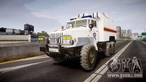 Ural 4320 MES for GTA 4