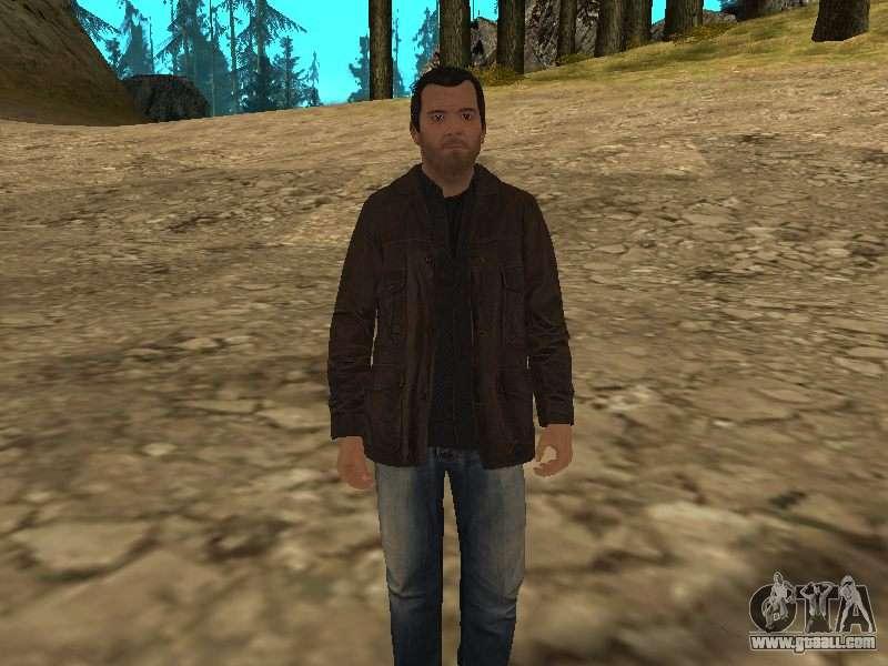 скачать скин майкл для Gta San Andreas - фото 11