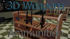 3D models of weapons in Ammu-nation