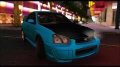 Subaru Impreza WRX STI Tuning for GTA San Andreas