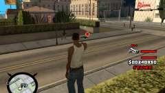 HUD by LokoMoko for GTA San Andreas