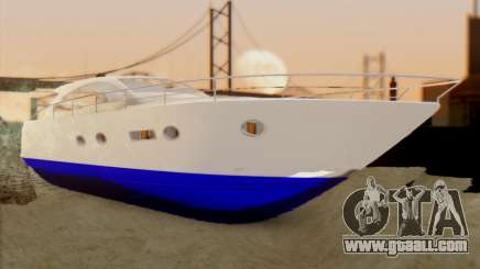 Speed Yacht for GTA San Andreas