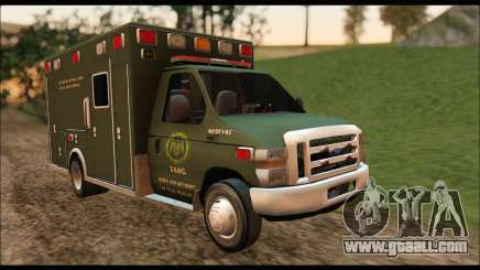Ford E450 Ambulance SANG Tactical Rescue for GTA San Andreas