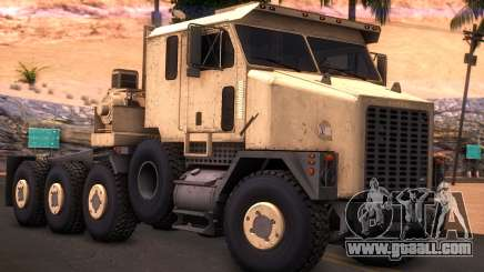 Oshkosh M1070 HET Tank Transporter for GTA San Andreas