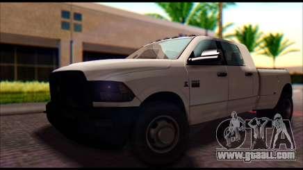 Dodge Ram 3500 Heavy Duty for GTA San Andreas