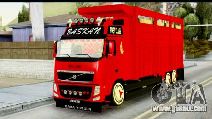 Volvo FH16 Hal Kamyonu for GTA San Andreas