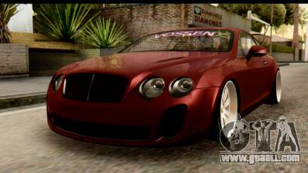 Bentley Continental VIP Stance Style for GTA San Andreas