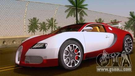 Bugatti Veyron Grand Sport Sang Bleu 2008 for GTA San Andreas