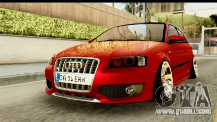 Audi S3 2007 Camber Edit for GTA San Andreas