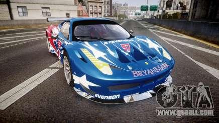 Ferrari 458 GT2 Stevenson Racing for GTA 4