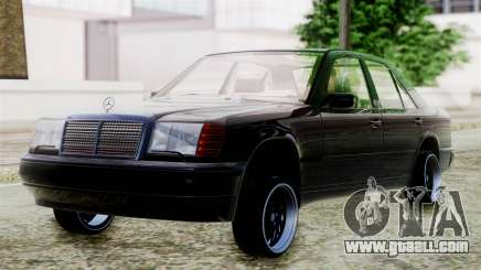 Mercedes-Benz W124 for GTA San Andreas