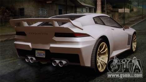GTA 5 Bravado Banshee SA Mobile for GTA San Andreas left view