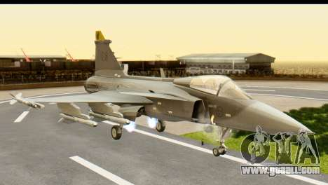 Saab Gripen NG for GTA San Andreas