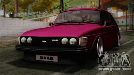 Saab 99 Turbo Stance for GTA San Andreas
