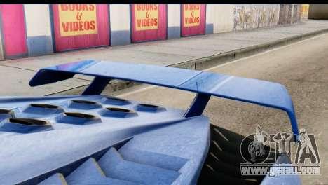 GTA 5 Pegassi Zentorno v2 for GTA San Andreas right view