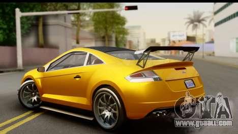 GTA 5 Maibatsu Penumbra for GTA San Andreas left view