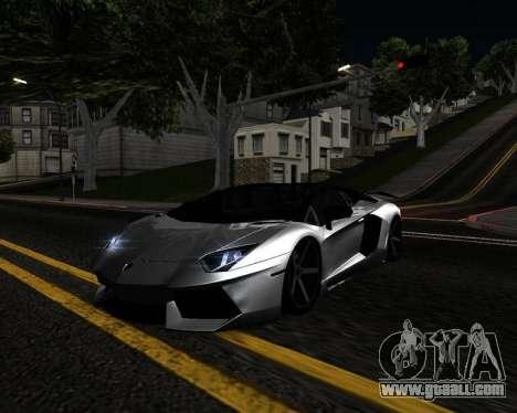 HDX ENB Series for GTA San Andreas forth screenshot