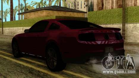 Ford Shelby GT500 for GTA San Andreas left view