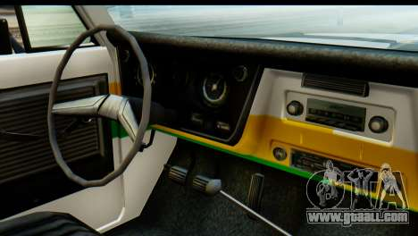 Chevrolet C10 Patrulla for GTA San Andreas back view