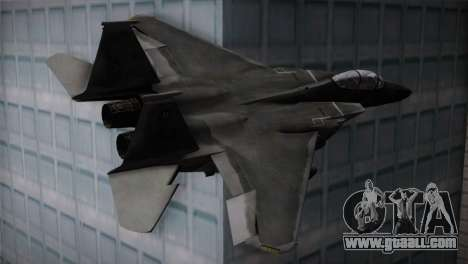 F-15 (Battlefield 2) for GTA San Andreas left view