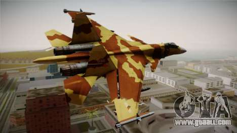 SU-37 Terminator for GTA San Andreas left view