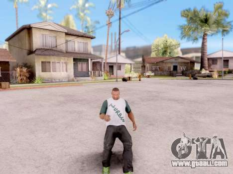 Real animations from GTA 5 for GTA San Andreas