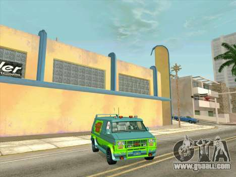 GMC The A-Team Van for GTA San Andreas right view