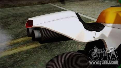 GTA 5 Bati Indian for GTA San Andreas back view