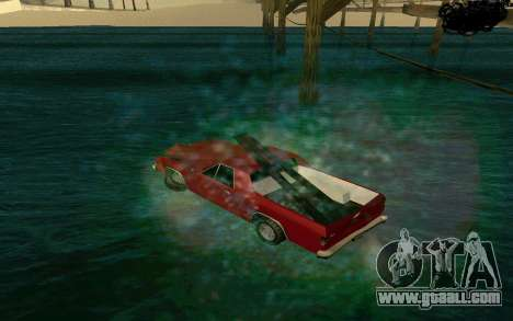 Cars Water for GTA San Andreas second screenshot