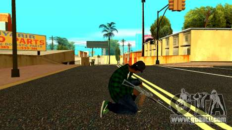 Weapon Pack for GTA San Andreas second screenshot