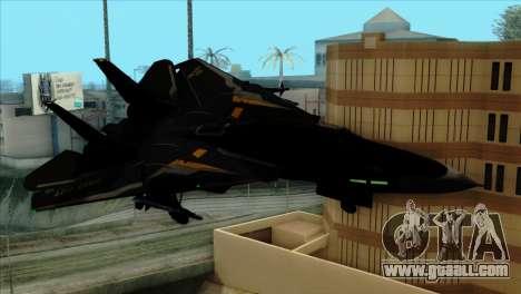F-14 Black Storm for GTA San Andreas