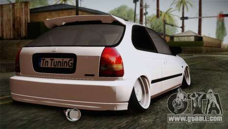 Honda Civic TnTuning for GTA San Andreas left view